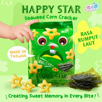 Snack Jagung Taiwan HAPPY STAR Corn Crackers
