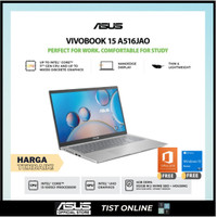 Asus A516JAO VIPS353+| I3 1005G1 4GB 512SSD+OPT 32GB W10 OHS 15.6FHD