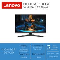 "Lenovo Monitor Gaming G27-20 27"" FHD IPS Panel 144 Hz 400 nits"