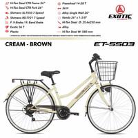 sepeda City Bike CTB 26 EXOTIC ET-5503 Garansi 5 tahun