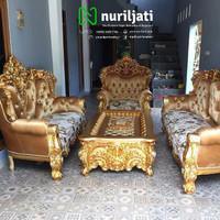 Sofa Tamu Ukir | SOFA RUANG TAMU UKIRAN
