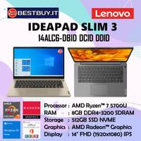 LENOVO IDEAPAD SLIM 3 - AMD RYZEN 7-5700U 8GB 512GB 14 FHD OHS W10