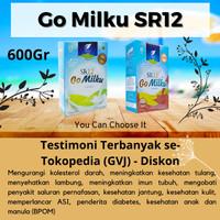 Susu kambing etawa SR12 Go Milku - 600Gr Cokelat
