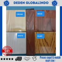 penyekat ruangan pvc folding door pintu plastik harga murah