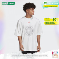 Kaos oversize Adidas original Pria Athletics ID Tee Original limited