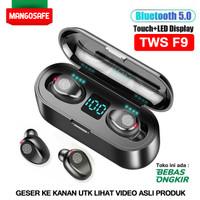 TWS F9 Earphone Bluetooth 5.0 Headset Wireless Earbuds Stereo Sport