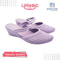 Sepatu Wanita Tali Heels Wedges Sandal Kasual Wanita BAT Portolady