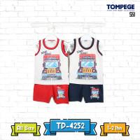 Tompege Setelan Singlet Baju Anak Laki Cowok TP-4252 B