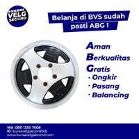Velg Mobil Bekas Ring 15 COMPOMOTIVE Pelek R15x7 Pcd 5x139,7 Murah 5pc