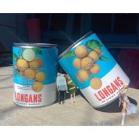 Buah Kelengkeng Kaleng 567gr lengkeng Longans in Syrup Longan Canned