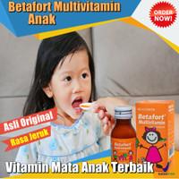 Terlaris Syrup Vitamin Mata Anak Multivitamin Betafort 60ml Terbaik