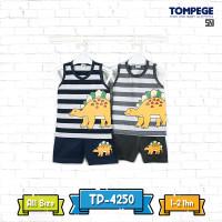 Tompege Setelan Singlet Baju Anak Laki Cowok TP-4250