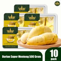 King Fruit Durian Super Montong 10 Pack