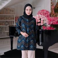 Baju Batik wanita BLUS bahan katun halus BATU RADEN FULL TRIKOT 0164