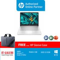 HP 14s-dk1509AU ATHLON3150/ 4GB / 512GB / 14.0/WIN10