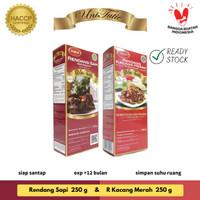 UniTutie Paket Duo - Rendang Daging Sapi 250 g & Kacang Merah 250 g