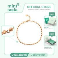Mint Soda Korea - Gelang Emas 18K / 750 - Orbit of Eternity