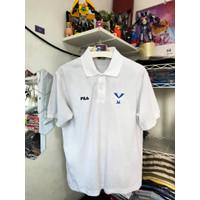 Kaos Polo Fila Putih Big Logo Y