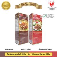 UniTutie Paket Duo - Rendang Jengkol 250 g & Kacang Merah 250 g