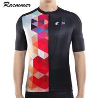 Audax Roadies Multicolor by Racmmer - Jersey Hitam Tapi Anti Bosan 109 - S