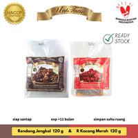 UniTutie Paket Duo Mini - Rendang Jengkol 120 g & Kacang Merah 120 g