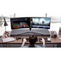 """SAMSUNG 49"""" LC49HG90DMEXXD QLED Curved Gaming Monitor LC49HG90 C49HG90"""