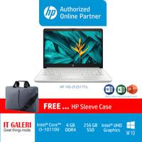 HP 14S-CF2517TU I3-10110U/4GB/256GBSSD/14.0/WIN10