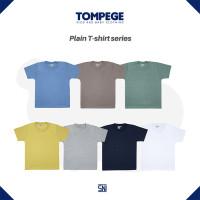 Tompege Kaos Polos Anak Usia 3 - 9 Tahun