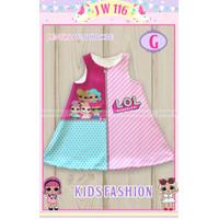 Dress Rumahan Anak Kids JW 116