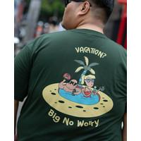 Kaos Pria Lengan Pendek Big Size BIG ORET / VACATION