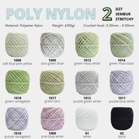 POLY NYLON SEMBUR - POLYESTER YARN - BENANG RAJUT POLY D27 - PART 2