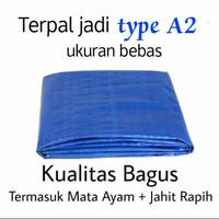 TERPAL PLASTIK A2 UKURAN 3X3 METER