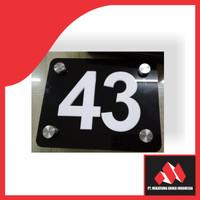Akrilik Nomor Rumah
