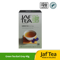 JAF Tea Green Tea Earl Grey 40g / 20 Tea Bag / Teh Hijau