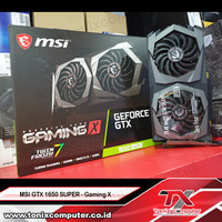 MSI GTX 1650 SUPER - Gaming X