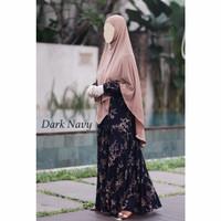 Gamis daily RAISA DRESS 2 - katun rayon uniqlo by Ayesha