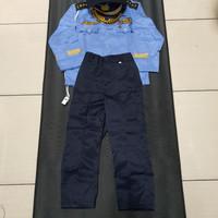 Baju karnaval anak TNI AU 7 8 tahun/baju profesi anak TNI AU/Baju Pr