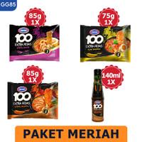 GAGA 100 Extra Pedas Saus Sambal Jalapeno 135ml, Mie Instant (GG85)