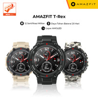 Amazfit T-Rex Smartwatch with 12 Military Certification AMOLED Display