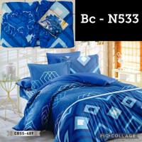 Promo Bed cover Set + Sprei set Natasha Bedsheet Ukuran 180X200 King