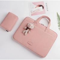 Laptop Acer Nitro 7 AN715-51-70D5 Tas Sleeve Premium Laptop Pink Doll