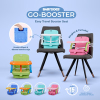 BABYDOES GO-BOOSTER EASY TRAVEL BOOSTER SEAT