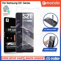 Tempered Glass Samsung S21 Ultra & S21 Plus & S21 Mocolo UV Anti Gores