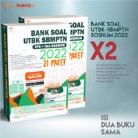 Bebas Buku UTBK Soshum Bank UTBK-SBMPTN Soshum 2022 X2