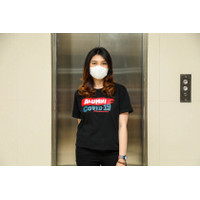 T-shirt Indonesia Pasti Bisa Alumni Covid-19 Hitam