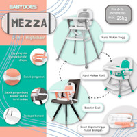 Babydoes High Chair CH-KT 614 SN Mezza
