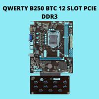 QWERTY B250 BTC 12 Slot (w/ 11x Port USB 3.0 PCI)