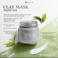 ms glow clay mask green tea