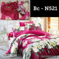 SALE Bed cover Set + Sprei Ukuran King size 180X200 Natasha Bedsheet
