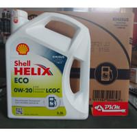 Oli Mesin Mobil LCGC SHELL HELIX ECO 5W-30 (3.5L) ORIGINAL 100%